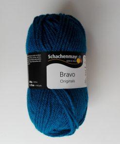 Lana Bravo 50 gr. color azul